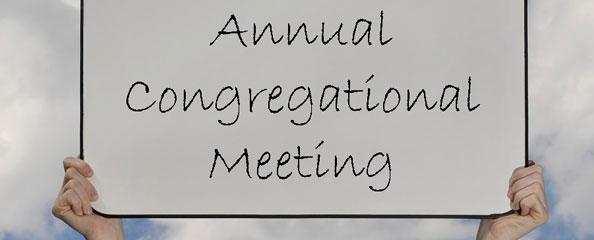 Annual Congregational Meeting - Grace Bible Church of ...