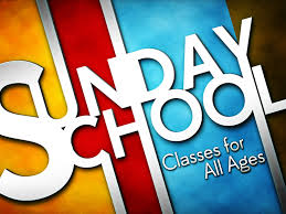 Sunday School & Nursery Resume October 4th at 9am!