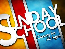Sunday School & Nursery Resume October 4th at 9am!